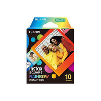 Rainbow instax SQUARE films 10 sheets