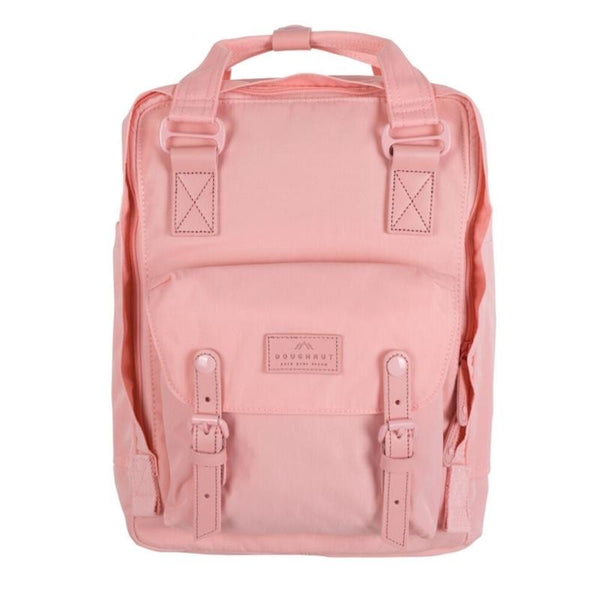 LIGHT CORAL Pastel Series Macaroon Doughnut Backpack