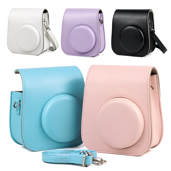 Plain Instax Mini 11 Leather Case/Bag