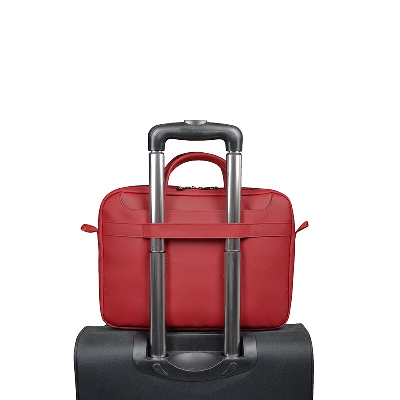 Port Designs ZURICH 13/14 Toploading Case Red