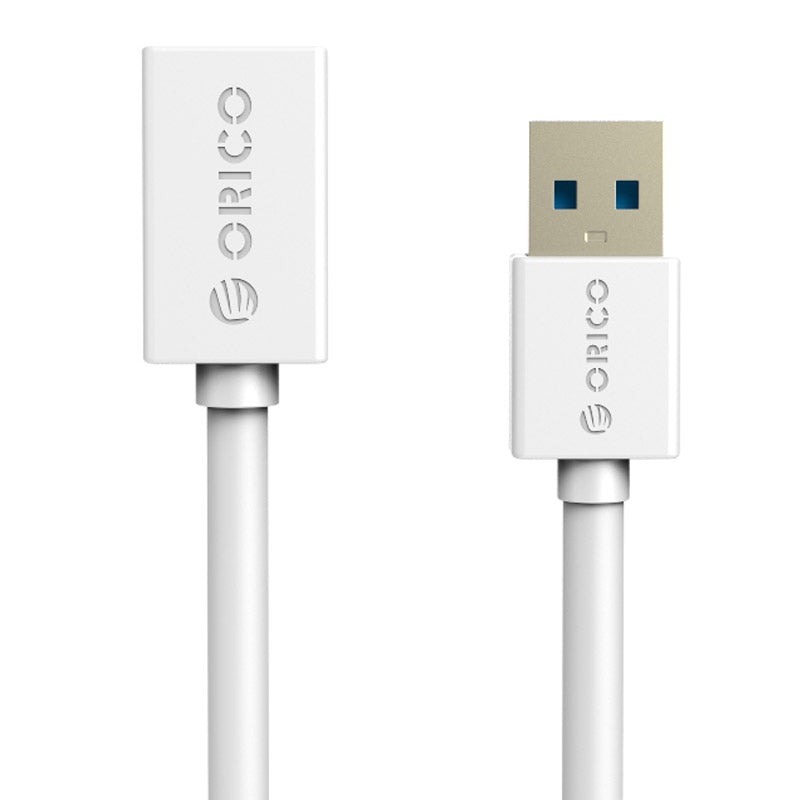 Orico USB3.0-A Male to Female Round Extender 1.5m Cable Whit