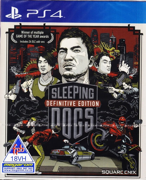 ESSENTIALS PS4: SLEEPING DOGS DEFINITIVE EDITION
