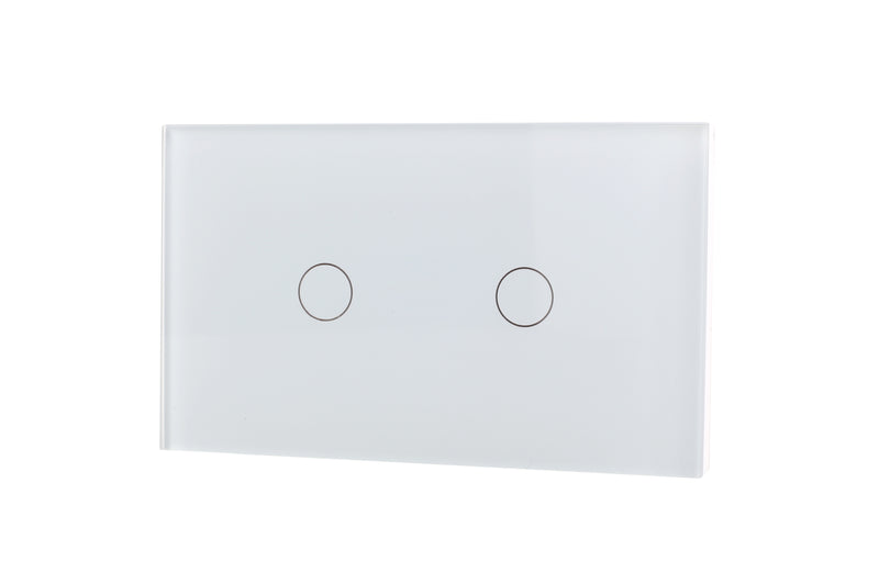 Lifesmart Smart Light Switch 2 lane - Socket 118/120 - White
