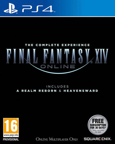 FINAL FANTASY XIV: A REALM REBORN+HEAVENSWARD (PS4)