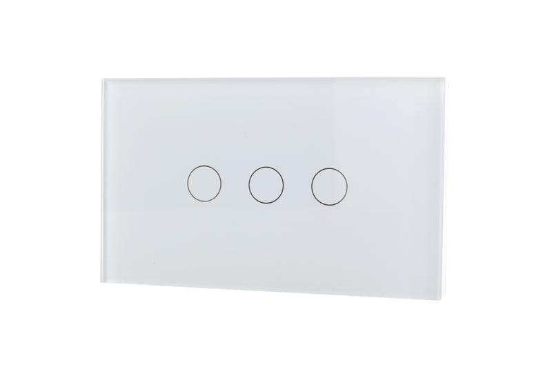 Lifesmart Smart Light Switch 3 lines - Socket 118/120 - Whit
