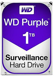 "Western Digital Purple (WD10PURZ) - 1.0TB 3.5"" SATA3 6.0Gbps Surveillance HDD, Intellipower™ Speed Management, 64MB Cache, 150MB/s Host to/from (Sustained), AllFrame, HD Video Optimised, , 2 year warranty"