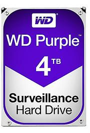 "Western Digital Purple (WD40PURZ) - 4.0TB 3.5"" SATA3 6.0Gbps Surveillance HDD, Intellipower™ Speed Management, 64MB Cache, 150MB/s Host to/from (Sustained), AllFrame, HD Video Optimised, , 2 year warranty"