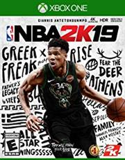 Xbox One Game - NBA 2K19, Retail Box, No Warranty on Software
