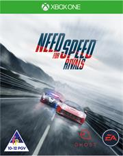 Xbox One Game - Need For Speed Rivals, Retail Box, No Warranty on Software