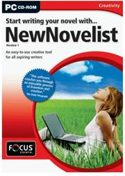 Apex Start Writing your Novel with… New Novelist Versio, Retail Box , No Warranty on Software