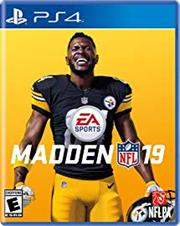 Sony PS4 Game - Madden NFL 19, Retail Box, No Warranty on Software