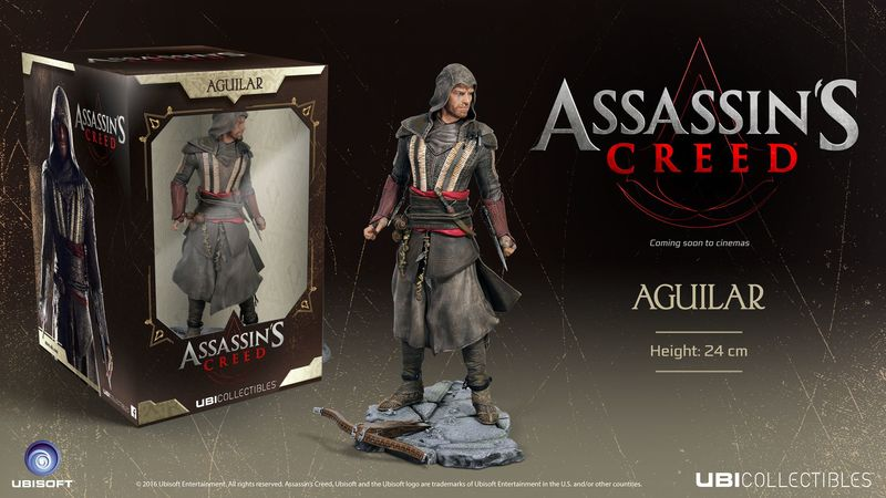 ASSASSINS CREED MOVIE: MICHAEL FASSBENDER 'AGUILAR' (FIGURINE)