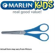 Marlin Kids Multi use scissors blunt nose Length 130mm polybag