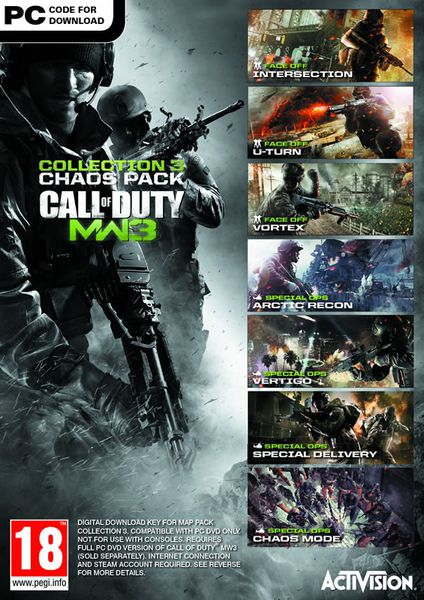 CALL OF DUTY MODERN WARFARE 3: DLC COLLECTION 3 (PC)