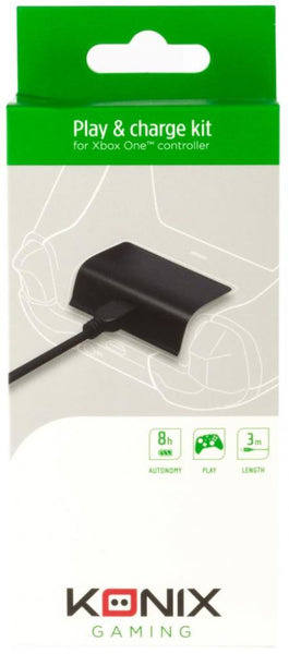 KONIX - PLAY AND CHARGE KIT - (XBOXONE)