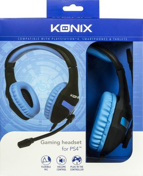 KONIX - GAMING HEADSET - (PS4)
