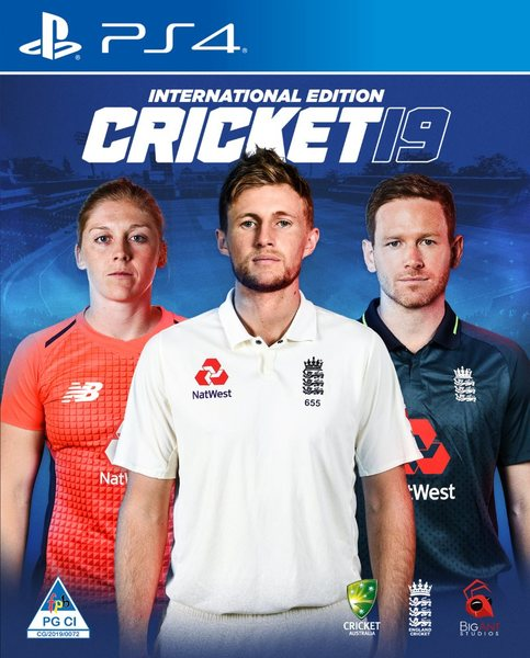CRICKET 19 - INTERNATIONAL EDITION (PS4)