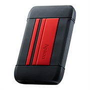 Apacer AC633 2TB USB 3.1 External Hard Drive - Red , Retail Box, Limited 3 Year Warranty