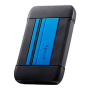 Apacer AC633 2TB USB 3.1 External Hard Drive - Blue, Retail Box, Limited 3 Year Warranty
