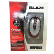 Geeko Red PS2 Optical Mouse, Retail Box , 1 year Limited warranty