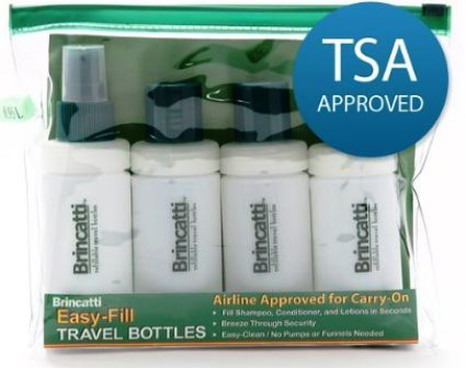Tevo Brincatti® Travel bottle Kit HBB001