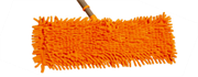 Tevo Orange Blitz Chenille Microfiber Mop Single Replacement Pad, Retail Box, 1 year warranty