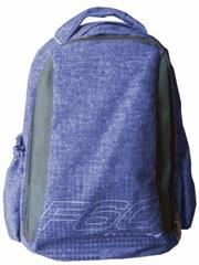 Macaroni Laureate Universal Student Backpack-Lightweight ,Padded shoulder straps and Back,Dual Main zippered compartments,Padded Top Grip Handle,Waterproof Material-Two Tone Blue and Grey