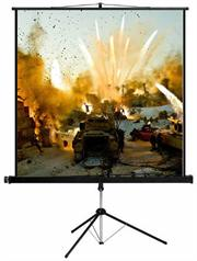 Esquire Tripod Projector Screen - Widescreen format 200x 113, Retail Box , 1 year Limited Warranty