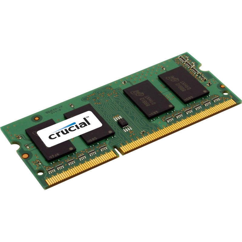 Crucial 8GB DDR3L 1600MHz SO-DIMM ECC Dual Rank