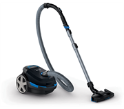Philips Bagged Cylinder Vacuum Cleaner Retail Box-2000W motor, Revolutionary Airflow max technology, 5m cord with 8m Action radius, New extra-clean nozzle 2 year warranty.
