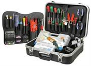 Goldtool 85 PCS Network Field Engineer's Tool Kit with Case, Retail Box, 1 year warranty