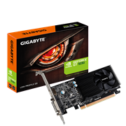 Gigabyte GT1030 Low Profile 2GB DDR5 VGA card, HDMI, DVI-D, Retail Box , 2 year Limited warranty
