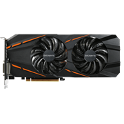 Gigabyte Nvidia GeForce GTX 1060 G1 Gaming 3G DirectX 12 3GB 192-Bit GDDR5 PCI Express 3.0 x16 Graphics Card, WINDFORCE 2X with Blade Fan Design, Support up to 8K display @60Hz, 16.8M Customizable Color RGB Lighting, Retail Box , 2 year Limited warranty.