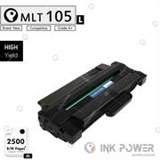 Inkpower Generic for Samsung MLT-D105L for use with Samsung ML-1915, ML-1910, ML-2525, ML-2580N, ML-2525W, SCX-4600, SCX-4623F, SCX-4623FN, SF-650, SF-650P Toner Cartridge, Retail Box ,