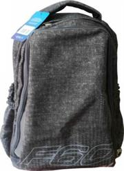 Macaroni Laureate Universal Student Backpack-Lightweight ,Padded shoulder straps and Back,Dual Main zippered compartments,Padded Top Grip Handle,Waterproof Material-Two Tone Black and Grey,Retail Box, 1 year Limited Warranty