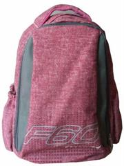 Macaroni Laureate Universal Student Backpack-Lightweight ,Padded shoulder straps and Back,Dual Main zippered compartments,Padded Top Grip Handle,Waterproof Material-Two Tone Pink and Grey, Retail Box, 1 year Limited Warranty