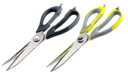 Tevo Multi Purpose Scissor - KMS002 - Grey - Super sharp, super strong, All-purpose household tool, Dishwasher safe, Retail Box, 1 year warranty