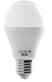 Luceco A60 E27 5W - Natural White - 2 Pack LED - 370Lumens - 25000hrs, True halogen appearance and perfect fit, 85% energy saving versus halogen, 10 times lifetime versus halogen, Using the latest LED technology, Non dimming, Retail Box, 1 year warranty