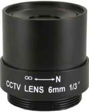 Securnix Lens 6MM FIXED, Retail Box , No Warranty