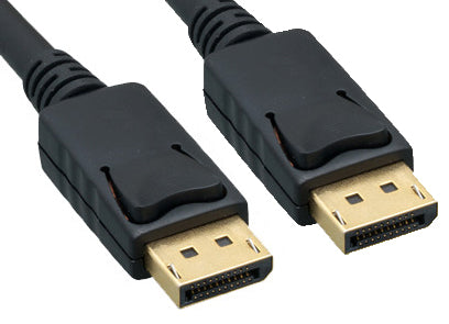 Display Port 0.5m Cable Black