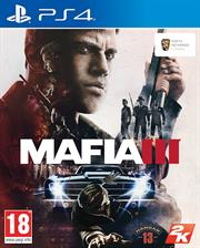 Sony PS4 Game - Mafia III, Retail Box, No Warranty on Software