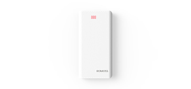 Romoss Sense6 20000mAh Power Bank White