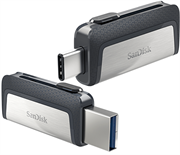 SanDisk Ultra 128GB Dual Drive USB Type-C, Retail Box, Limited Lifetime Warranty
