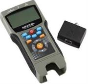 Goldtool Total Solution MultiFunction Tester, Backlit LCD, Tests UTP, STP Cables, Retail Box, 1 year warranty