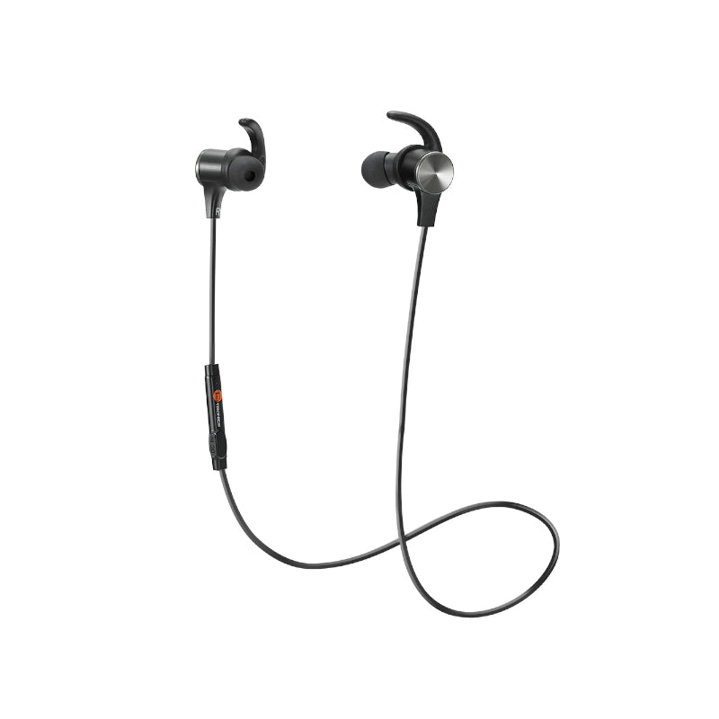 TAOTRONICS IPX5 Wireless Bluetooth 5.0 Up to 9 Hours Battery Headphones Black