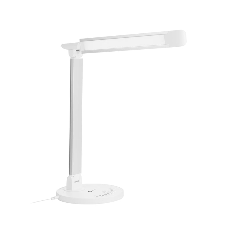 TAOTRONICS LED 410lm Desk Lamp with USB 5 V/1 A Charging Port Silver