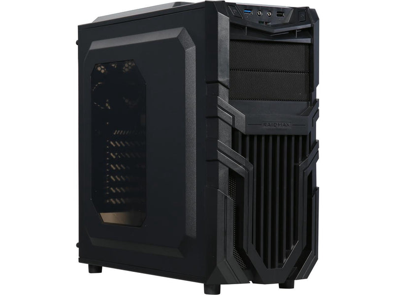 Raidmax Vortex V5 Window (GPU 390mm) ATX Gaming Chassis Black