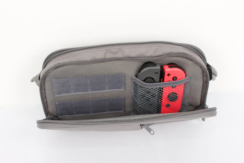 SparkFox 3 Pocket Travel Bag with Game/SD Slots - SWITCH