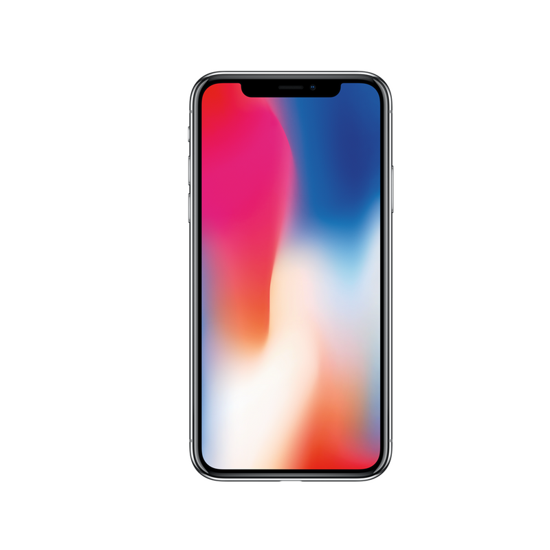 iPhone X 64GB - Silver