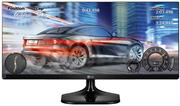"Lg 25"" 25UM58-P.AFB Class 21:9 UltraWide Full HD IPS LED Monitor - True 178° wide viewing angle + real colour, Full HD 2560 x 1080, Brightness - 250cd/m2, Dynamic Contrast Ratio - 1,000,000:1, 5ms Response Time GTG, 2 X HDMI, Retail Box , 3 year warranty"